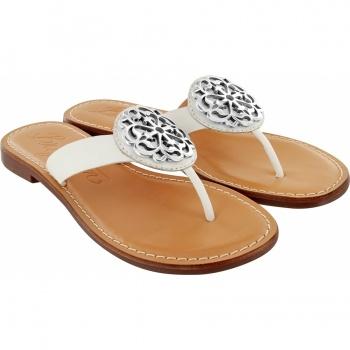 BR sandal Alice white